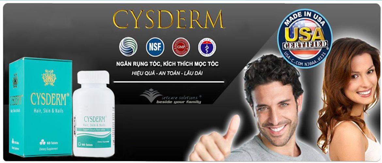 Cysderm - Viên uống hỗ trợ tóc, da và móng