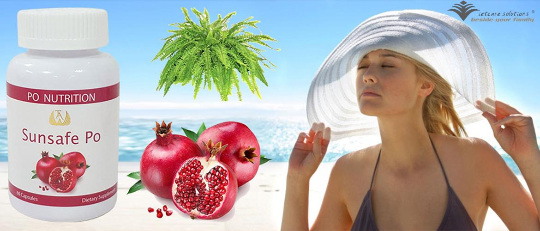 Sunsafe Po - Viên uống chống nắng làm đẹp da